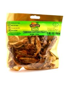Dried Smoked Catfish Fillets | Buy Online at the Asian Cookshop